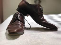 Sapato Social Marron Albanese Numero 39 Otimas Condições