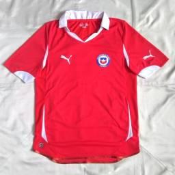 Camisa I Oficial Puma Chile 2010 / 2011 S/nº Tamanho M