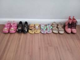 Potinho de calçados 11 pares novinhos