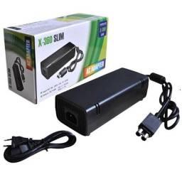 Fonte X Box 360 Slim 2 pinos - Plenus Informática