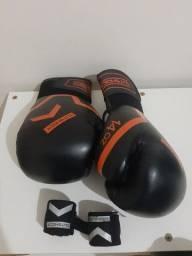 Luva Muay Thay / Boxe + Bandagem