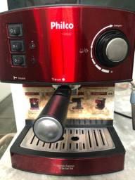Cafeteira Philco Expresso 20 Bar Inox Red