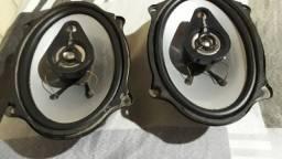 Alto falantes Lythium 5x7 Oval 100Watts rms cada um zero.