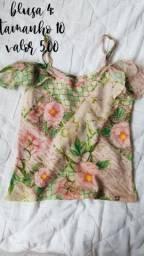 Vestidos e blusas infantil
