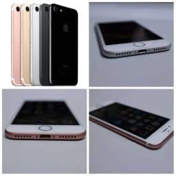 iPhone 7 de 127 GB valores na descrição