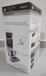 Gamer Kit - PSP - Twisted metal, case, Headphone - Novo e original.