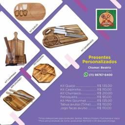 Kits para churrasco personalizados