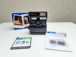 Máquina Fotográfica Instantânea Polaroid 636 Closeup