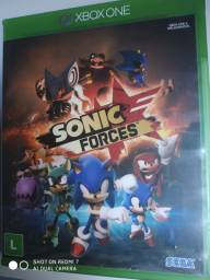 Jogo Sonic force Xbox one