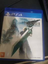 Final Fantasy VII Remake PS4 muito novo