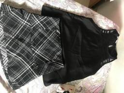 Short saia + Blusa