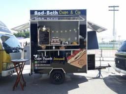 Food truck semi novo