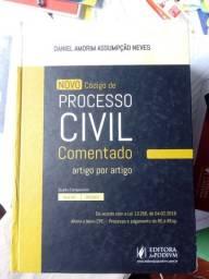 Novo código de Processo civil comentado.