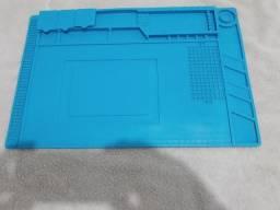 Manta Magnetica Anti Estatica Profissional Azul S-160