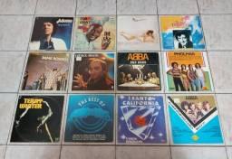 VINIL- LOTE C/12 LP'S/ADAMO/I SANTO CALIFÓRNIA/ABBA/COMMODORES +