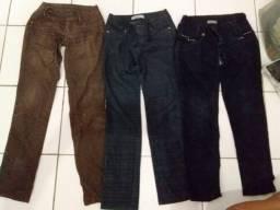 As 3 calças