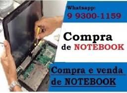 Compra/venda de Notebook com ou sem defeito