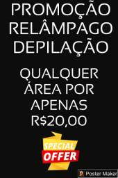 DEPILAÇÃO A 20,00