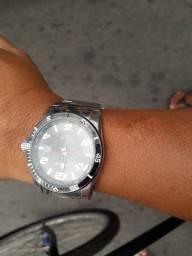 Relógio tecnos original aço