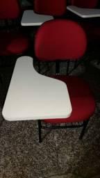 Varias Cadeira com prancheta