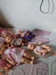 Troco essas bonecas por uma bebê reborn