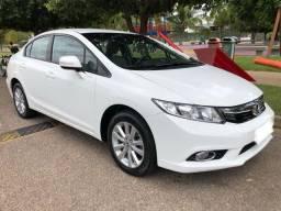 Honda Civic, LXR, 2014, 2.0, automático, única dona, estado de zero