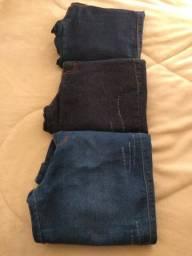 Vendo três calças jeans