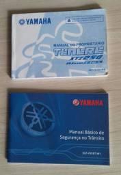 Manual do proprietário Tenere XTZ 250