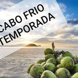 Apartamento para temporada Cabo Frio