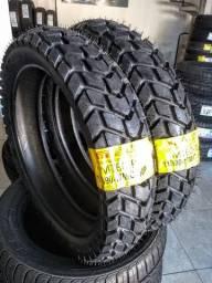 Pneu Novo Marca Pirelli MT60-R 110/90-17 ( Pneu de Bros Traseiro )