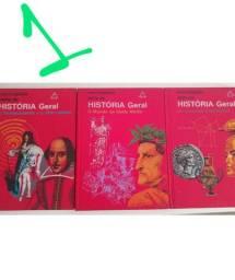 3 livros de historia geral editora Delta