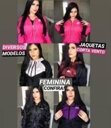 Cortas Ventos Femininas Vários Modelos!!! Oferta Imperdível A Partir de 99,90 !!!