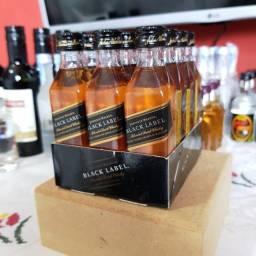 Miniatura Whisky Black Label 12 Anos 50ml - Original e Lacrada