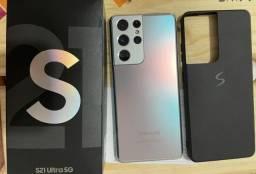 SAMSUNG Galaxy S21 Ultra Prata 256GB/12GB