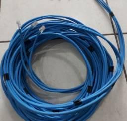 Cabo de rede azul Cat 6 - 2.50 metros