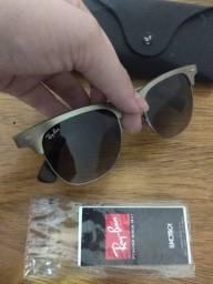 Óculos Sol Ray Ban Club Master Titanium Rb 3507. Impecável
