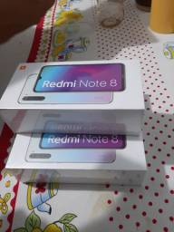 Xiaomi note 8 lacrados promoção