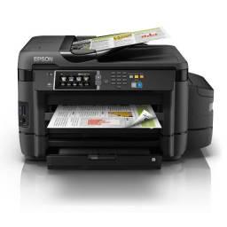 Impressora Multifuncional Colorida EcoTank L1455 - a3+ Epson semi nova pouco uso