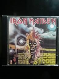 Cd Iron Maiden nacional raro