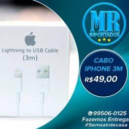 Cabo Carregador Lightning Apple (1m - 2m - 3m)