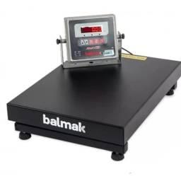Balança eletrônica 300kg com bateria e selo do Inmetro-entregamos em domicílio