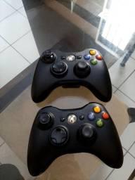 2 Controles sem fio para Xbox 360