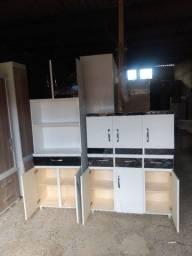 Lindos kits de cozinha, novos e de madeira!