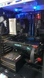 "PC Gamer Core i5 Geforce GTX 1070 + Monitor 24"""