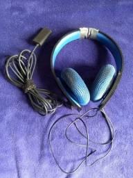 Headset Sony Silver P/ Ps3/ps4/psvita/pc - Funcionando 100%