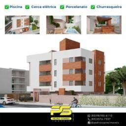Apartamento com 2 dormitórios à venda, 57 m² por R$ 160.000 - Mangabeira - João Pessoa/PB
