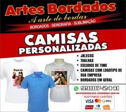 Camisas personalizadas FABRICAÇÃO PRÓPRIA E RÁPIDA