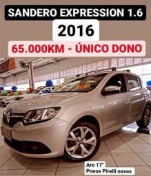 Sandero Expression 1.6 - Único dono