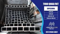 Tubo metalon quadrado