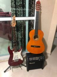 Vendo guitarra, vilão e cubo